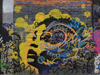 Прогулка по самым крутым граффити в историческом центре Боготы