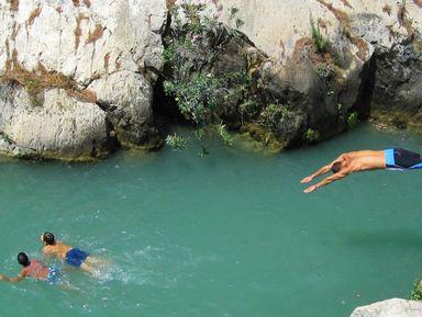 Торревьеха — водопады Альгара