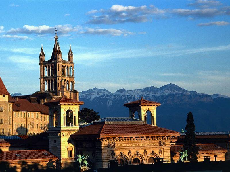 Лозанна — столица Олимпиад и аристократии
