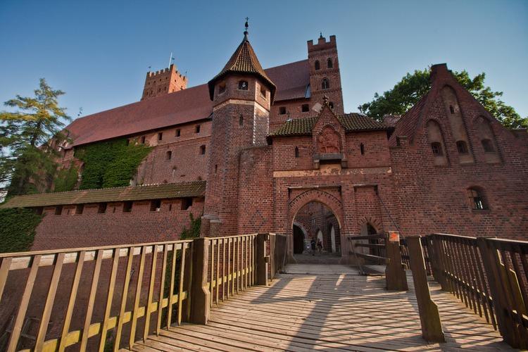 Замок Тевтонского ордена в г. Мальборк