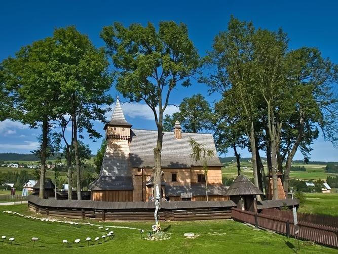 Деревянные костелы южной Малопольши