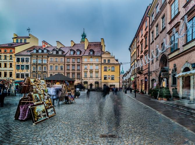 Исторический центр Варшавы